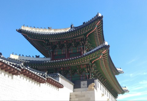 Wudky's Seoul Trip - Gwanghwamun Gate, Gyeongbokgung Palace